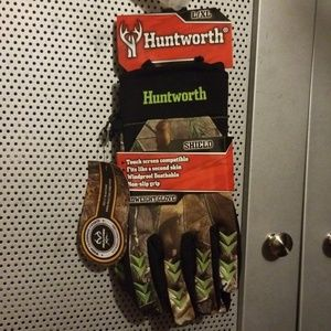 Huntworth Midweight Hunting Gloves Shield SizeL/XL